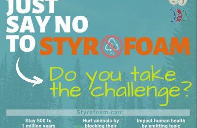 Styrofoam Challenge Poster
