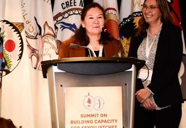 Louisa-Saganash Cree Nation Summit